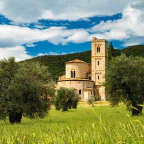 Burg Toskana
