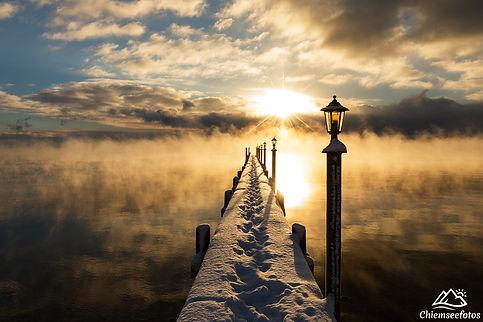 Chiemsee Winter
