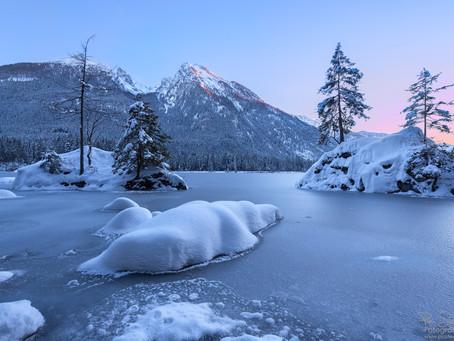 Wintertraum am See