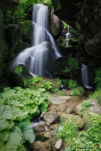 Wasserfall Elbsandsteingebirge