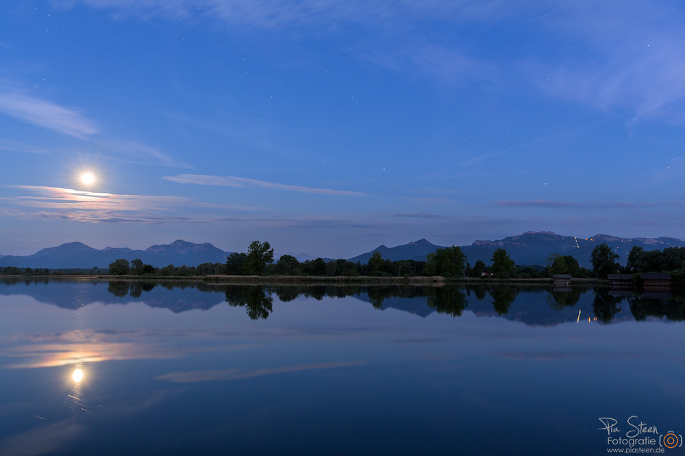 Chiemsee Vollmond