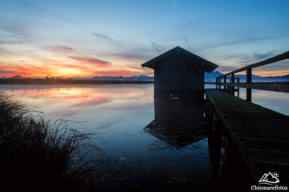 Altes Bootshaus am Chiemsee