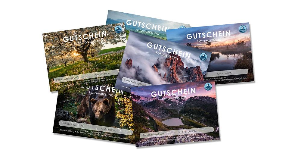 Gutscheine Fotoworkshop