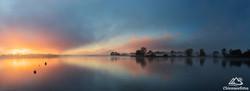 Nebelmorgen am Chiemsee