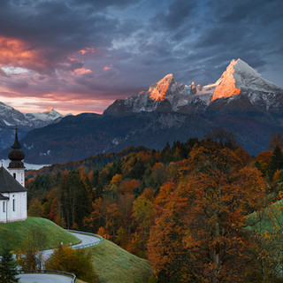 Herbstmorgen in Bayern