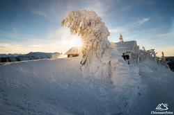 Kampenwand im Winter