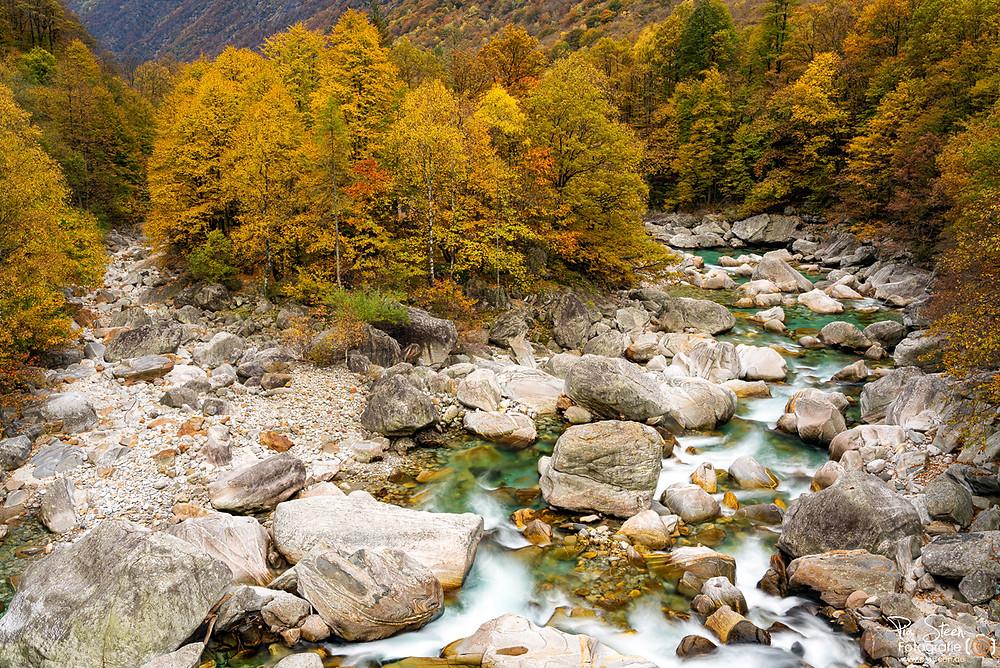 Wasserfall Valle Verzasca