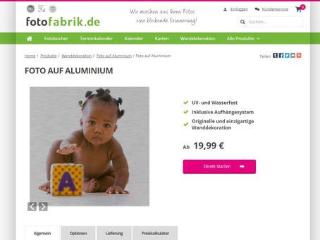 Wandbild im Test bei fotofabrik.de