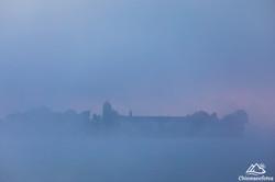 Fraueninsel im Nebel