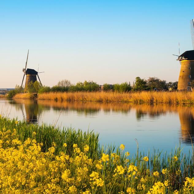 Holland Kinderdijk
