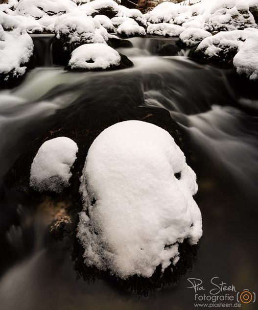 Gollinger Wasserfall Winter