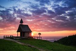 Kapelle auf der Kampenwand