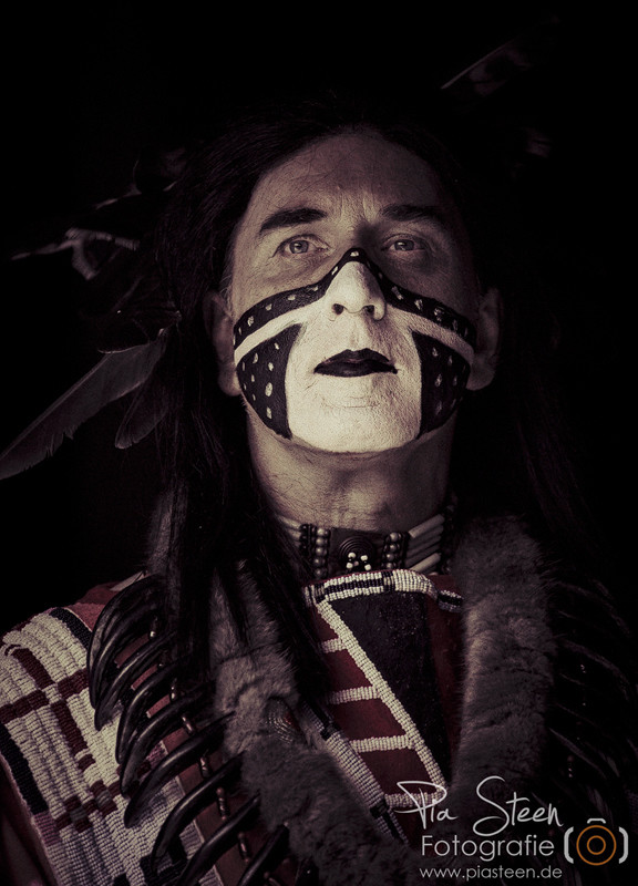 Indianer Portrait