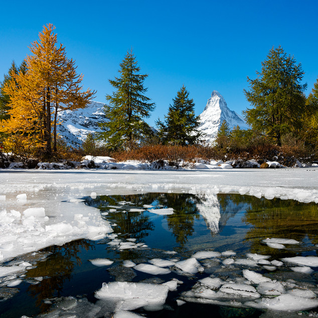 Matterhorn Spiegelung