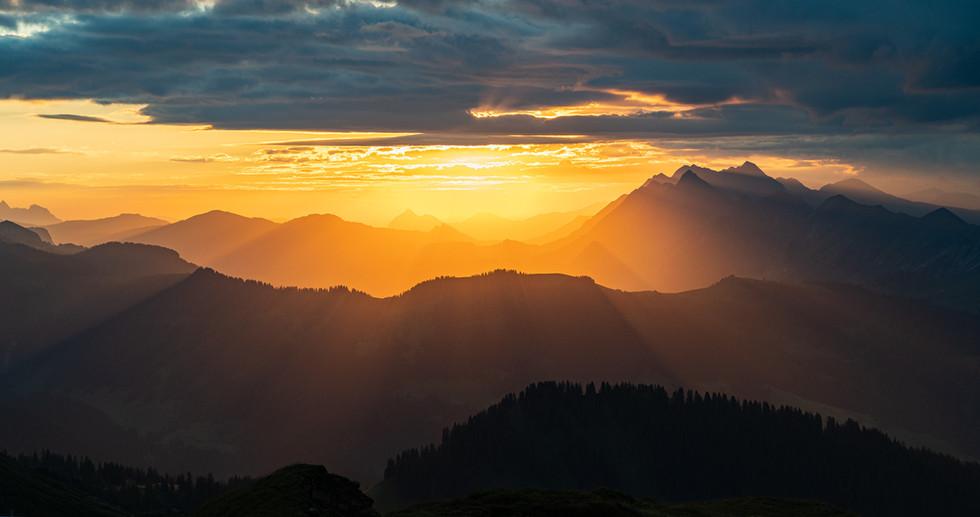 Sonnenaufgang Schweiz