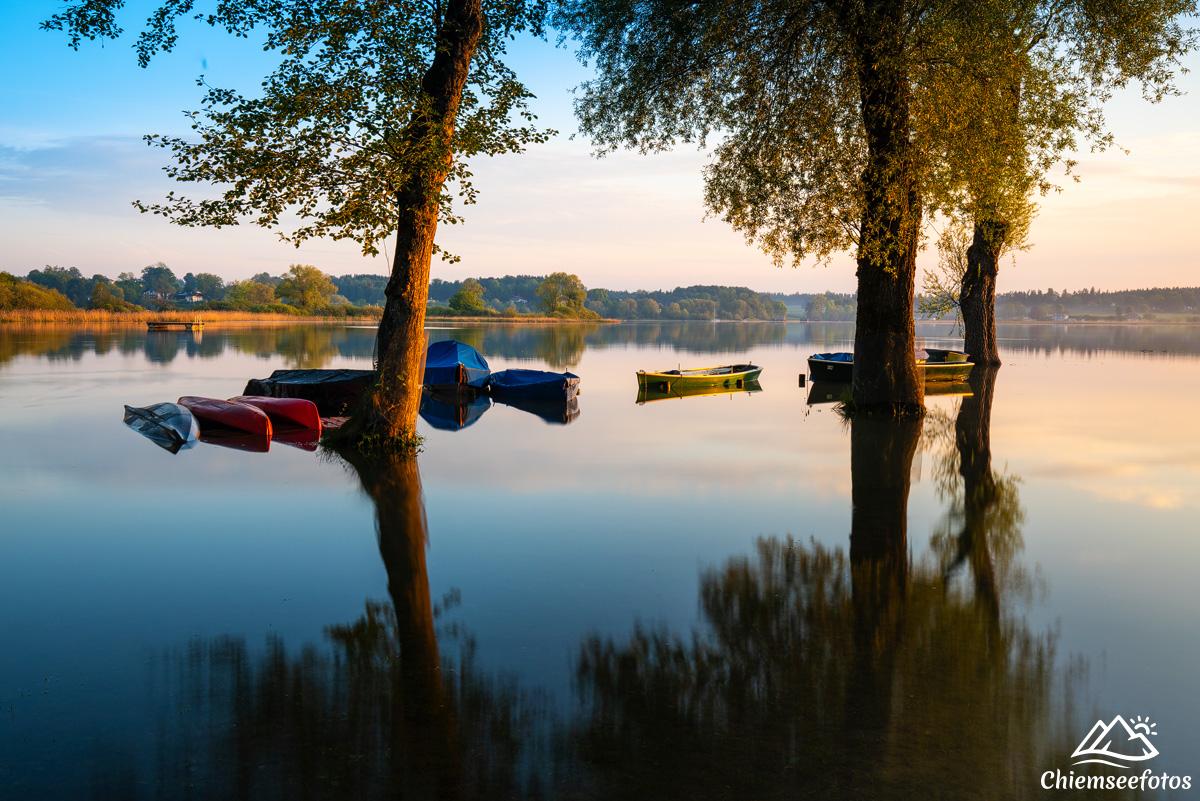 Hochwasser am Chiemsee