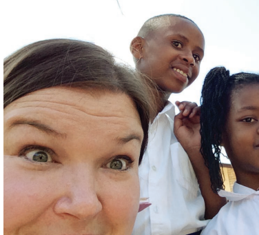 Finnish teacher's account of her GEA trip to East Africa