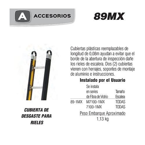 Cubierta Anti-Desgaste Para Rieles No de modelo 89-1MX