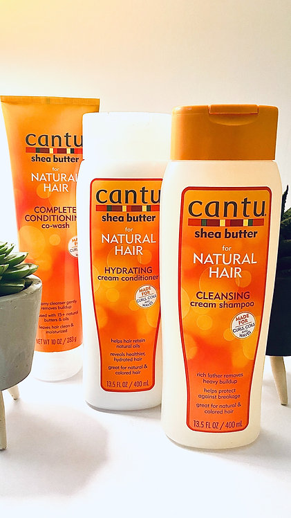 Cantu: Wash & Co-Wash Day Bundle