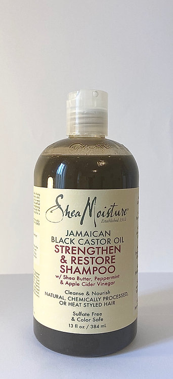 Shea moisture Jamaican black castor oil shampoo in online afro black hair care shop