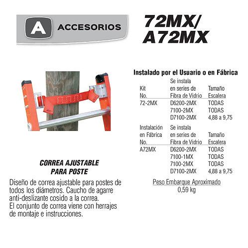Correa Ajustable Para Poste No de modelo 72-2MX