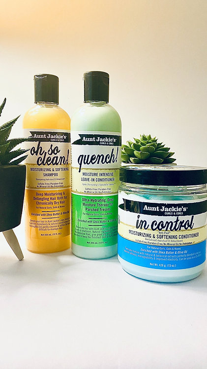 Aunt Jackie's: Wash Day Bundle (Conditioner Choice)