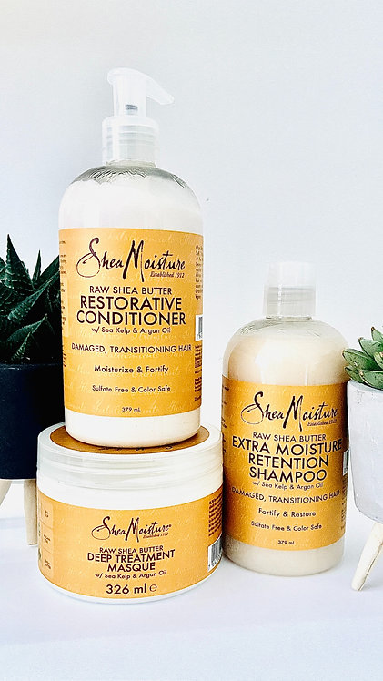 Shea Moisture Raw Shea Pamper Me Bundle