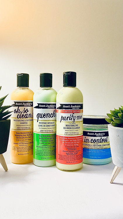 Aunt Jackie's: Wash & Co-Wash Day Bundle (Conditioner Choice)