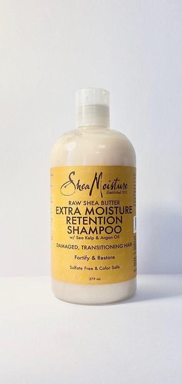 Shea moisture raw shea shampoo in afro hair care shop