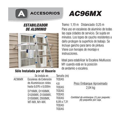 Estabilizador De Aluminio No. De modelo AC96MX