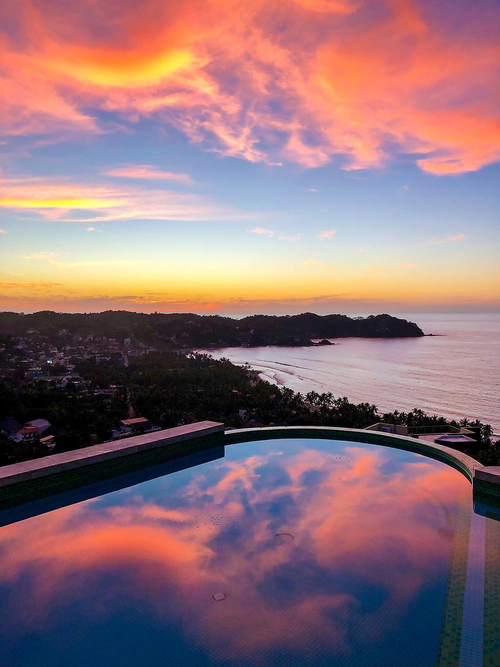 Sayulita Mexico sunset