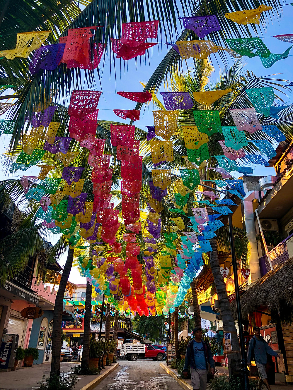 Sayulita Mexico downtown travel