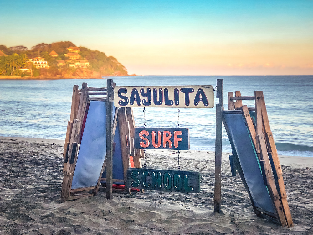 Sayulita surf school water bacteria mexico travel