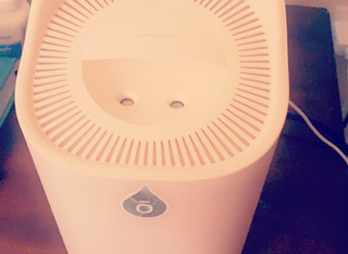 The latest diffuser + humidifier i'm obsessed with!