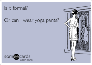 The truth about yoga pants