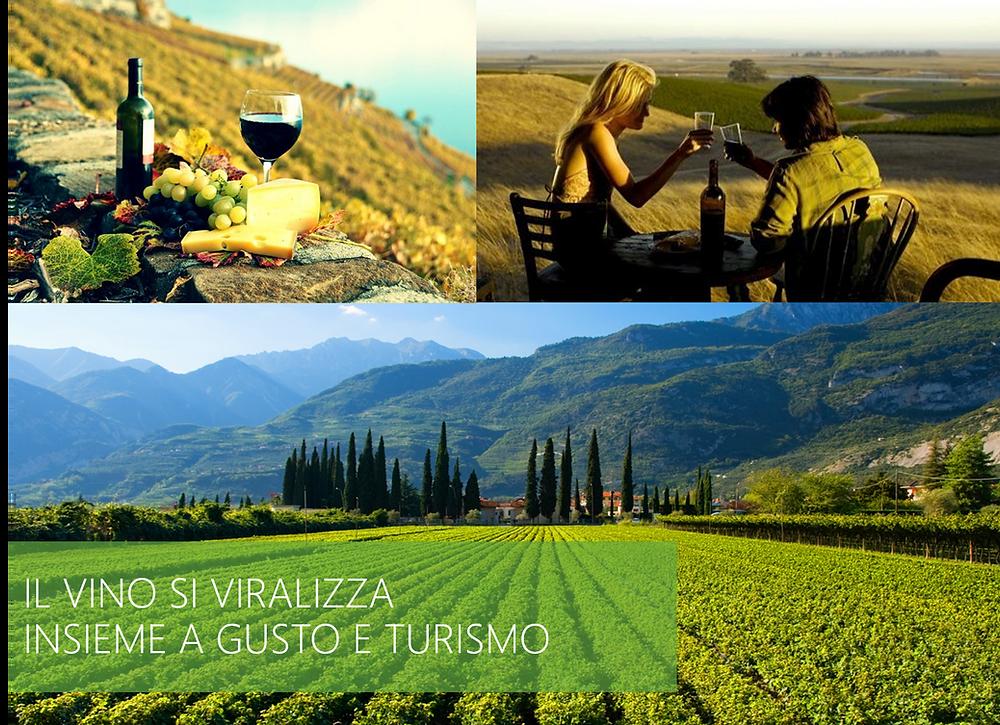 Il vino si viralizza insieme a gusto e turimo