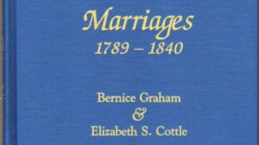 Washington County Marriages: 1789-1840
