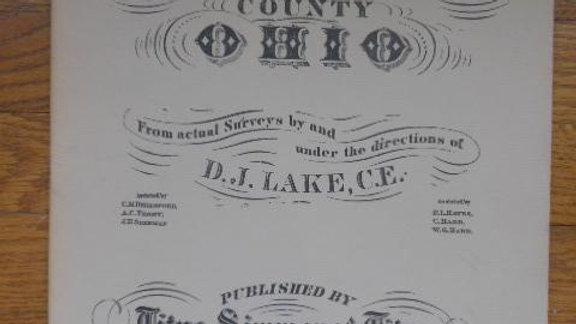 1875 Atlas of Washington County