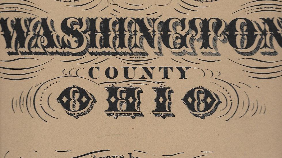 1845 Atlas of Washington County