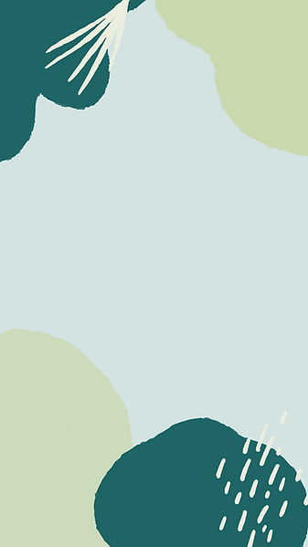 Blue Plant and Butterfly Phone Wallpaper