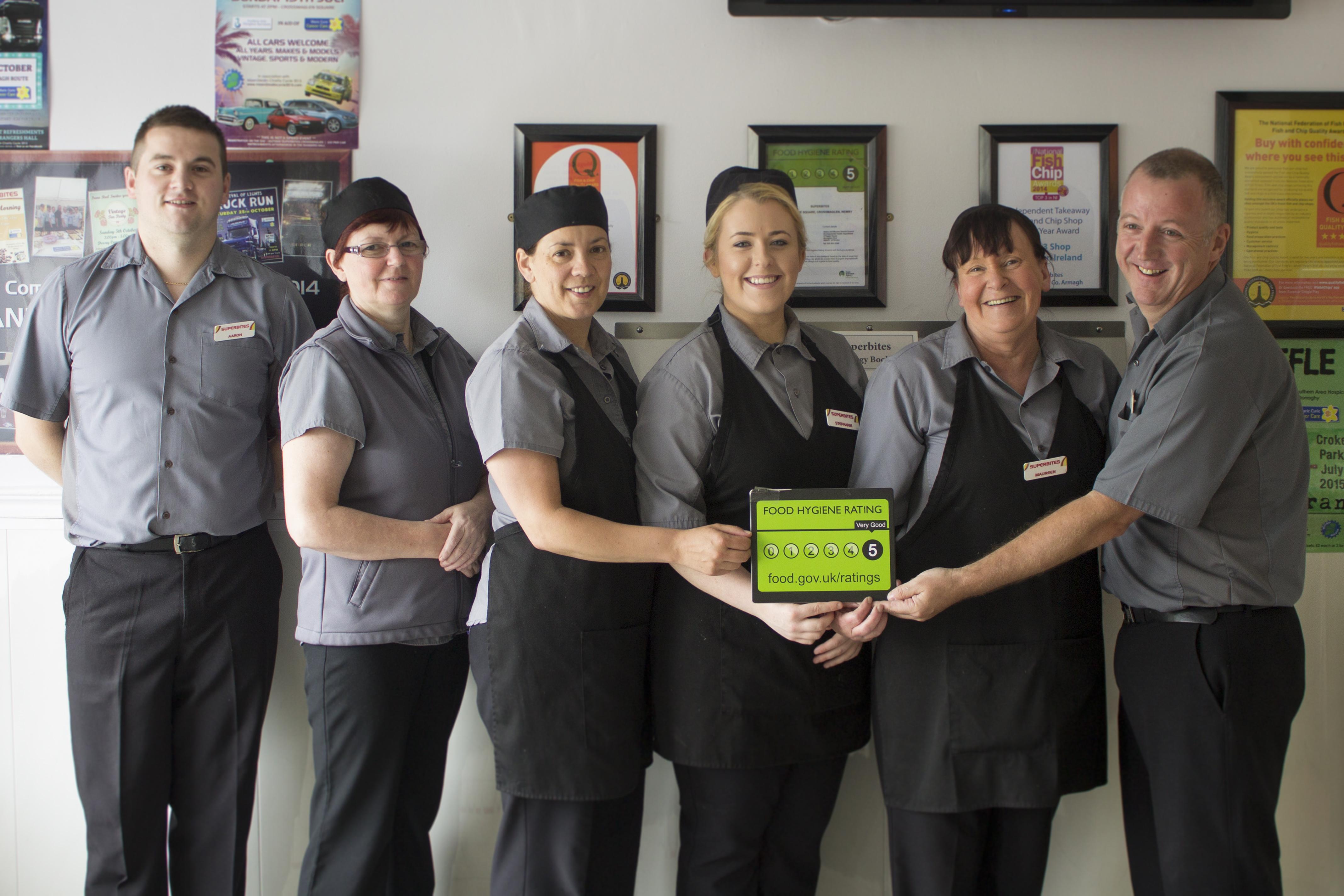 5 Star Food Hygiene Award