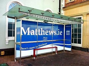 Matthews Coaches Bus Shelter Graphics