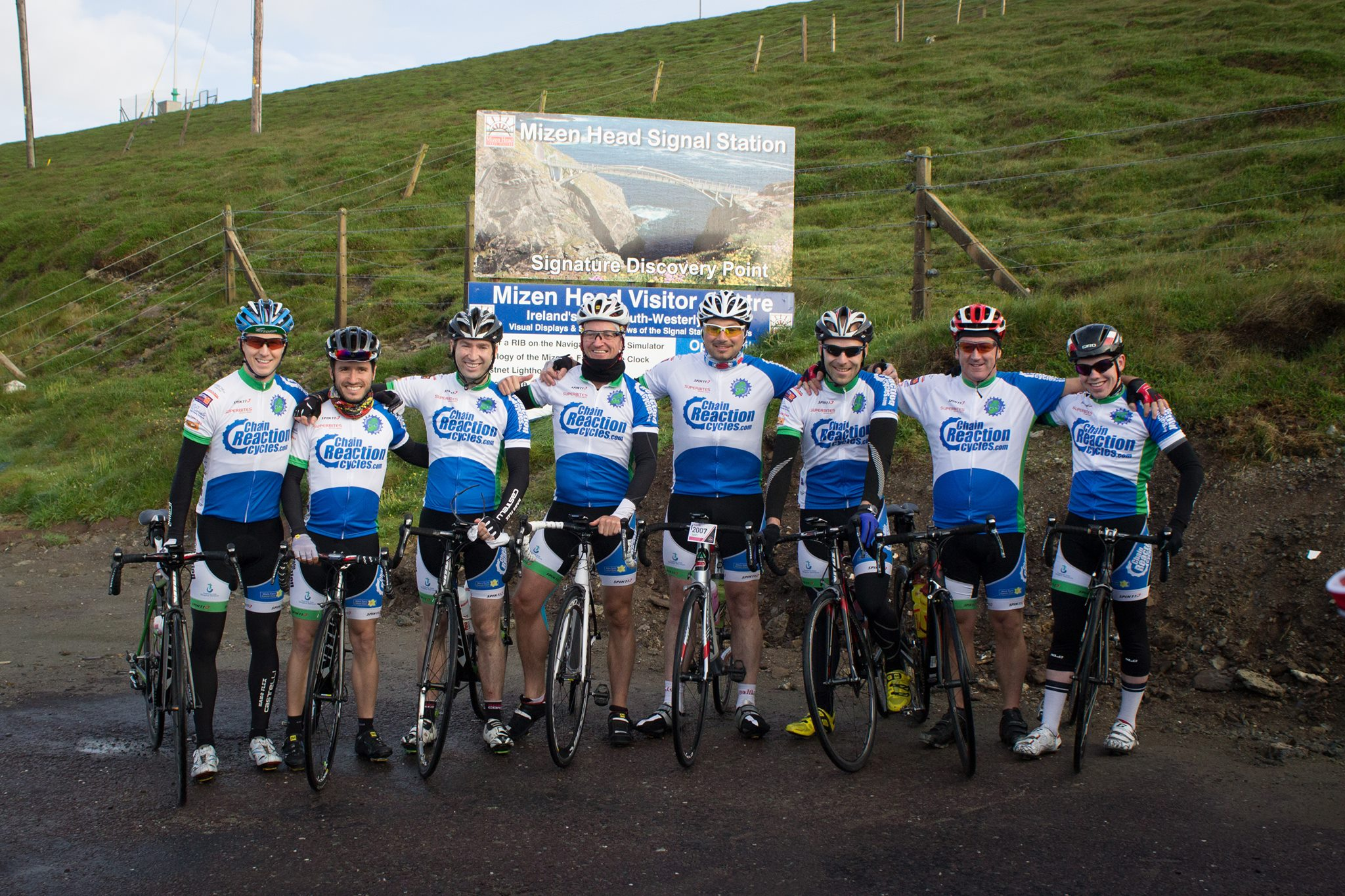 Mizen 2 Malin Charity Cycle
