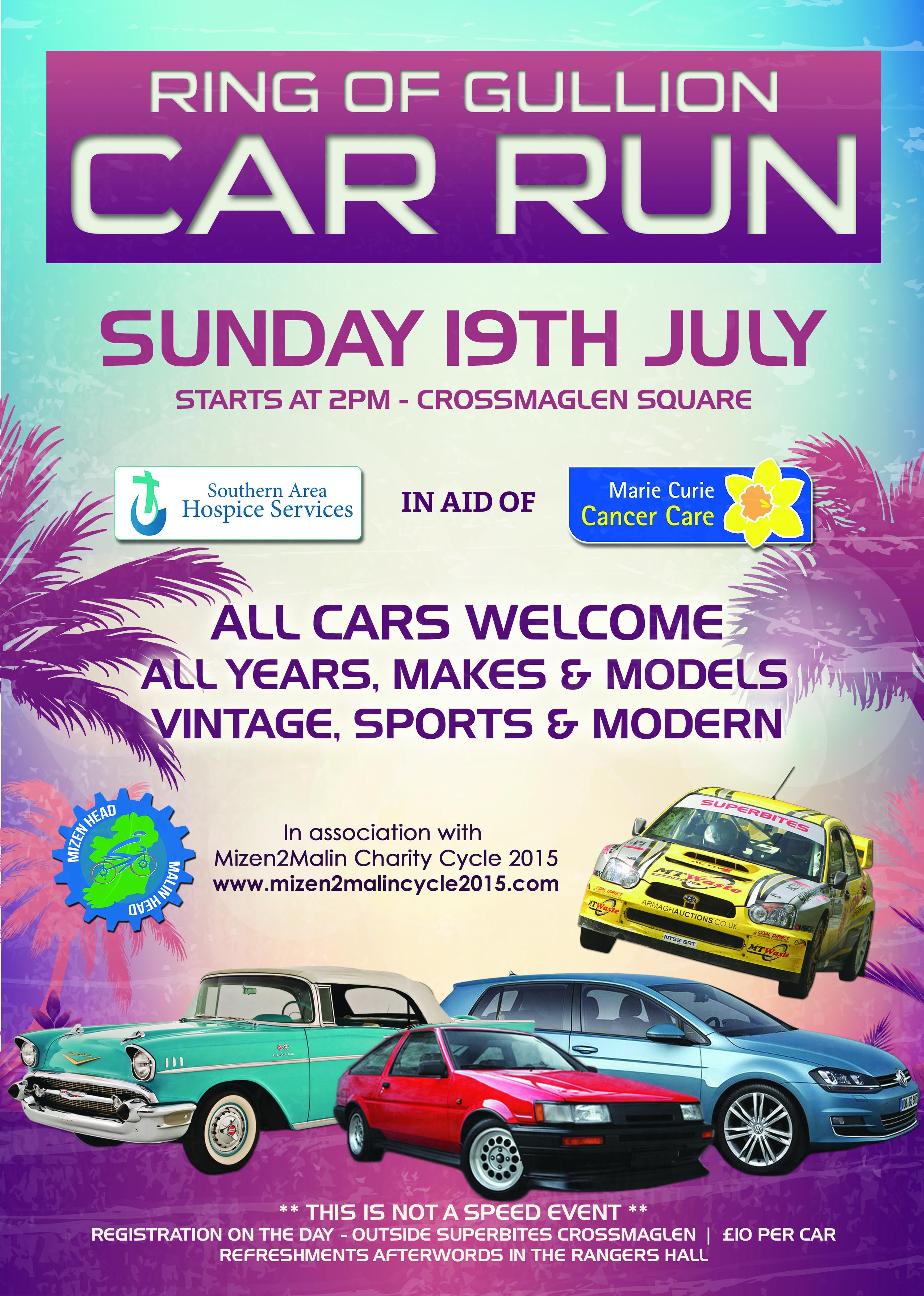 Ring of Gullion Car Run