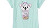 Girls milkshake sequin shirt