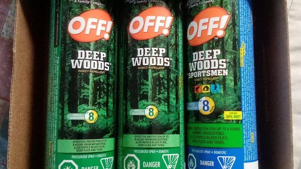 deep woods 3 pack