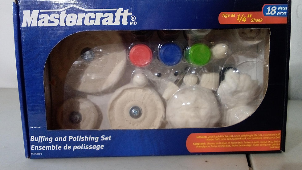 Mastercraft Buffing and Polishing Set