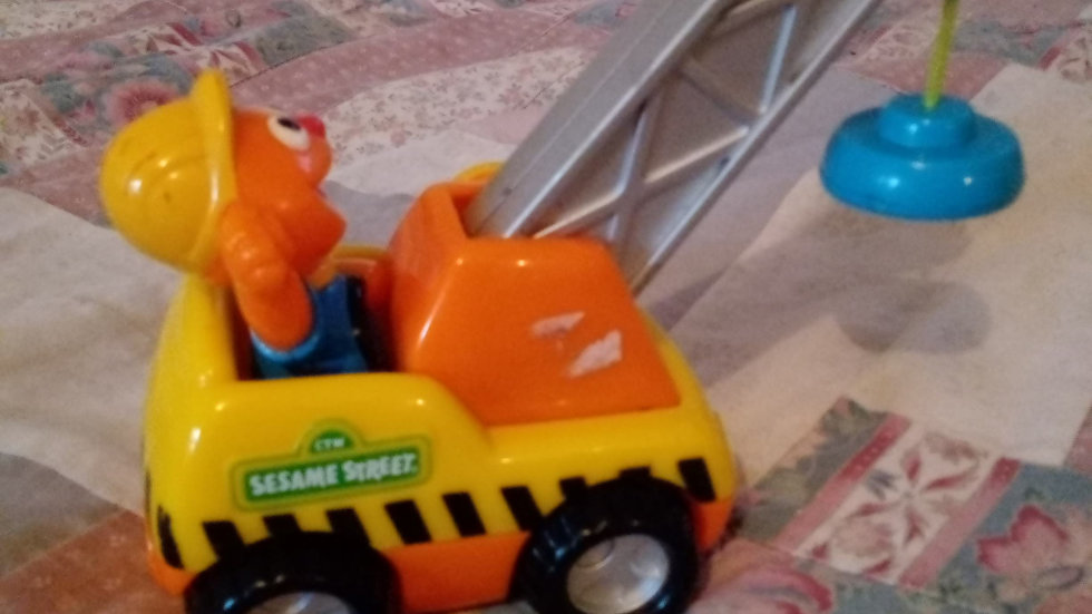 sesame street construction toy