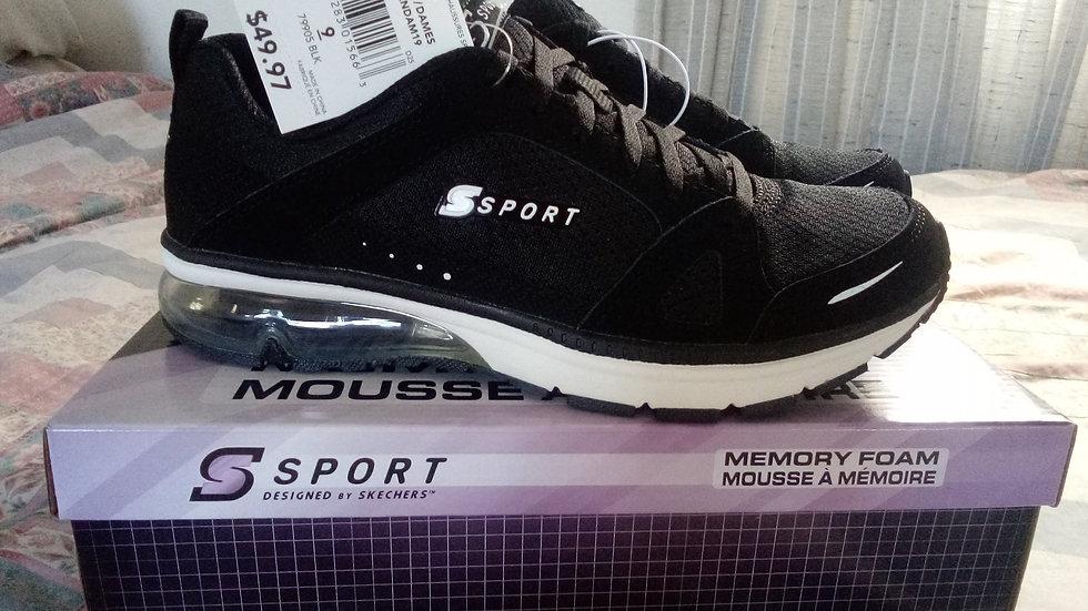 Womens memory foam sport shoe