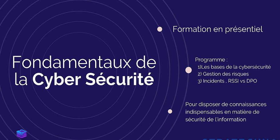 Les fondamentaux de la cybersécurité - Session d'Île-De-France